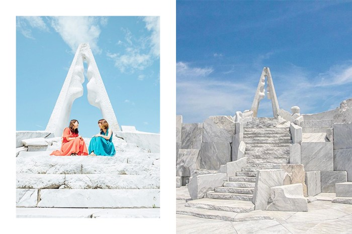 通往天空的夢幻階梯:這座大理石秘境成為日本女生 Instagram 熱門景點!