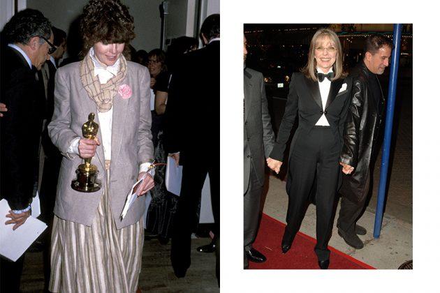Diane Keaton 73 years old Boyish Style Icon
