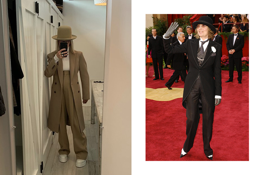 Diane Keaton 73 years old Boyish Style Icon