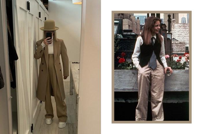 永遠的 Boyish 繆思女神:73 歲才成為 IG 網紅的她,用穿搭證明時尚不分年齡!
