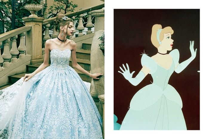 從《Cinderella》到《Aladdin》茉莉公主:Kuraudia 再度聯手 Disney 推出迷人婚紗設計!