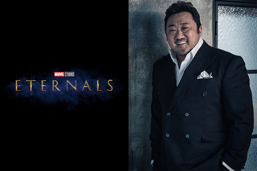 Angelina Jolie Ma Dong Seok The Eternals Marvel New MCU
