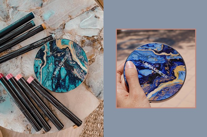 迷人的波西米亞夏日風格:這款限量「人魚藍修容盤」光是外型就令所有女生瘋狂!