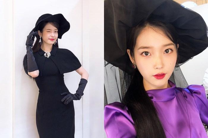 飾演美豔女主人:IU 新戲《德魯納酒店》戲中造型全曝光,百變服裝都難不倒她!