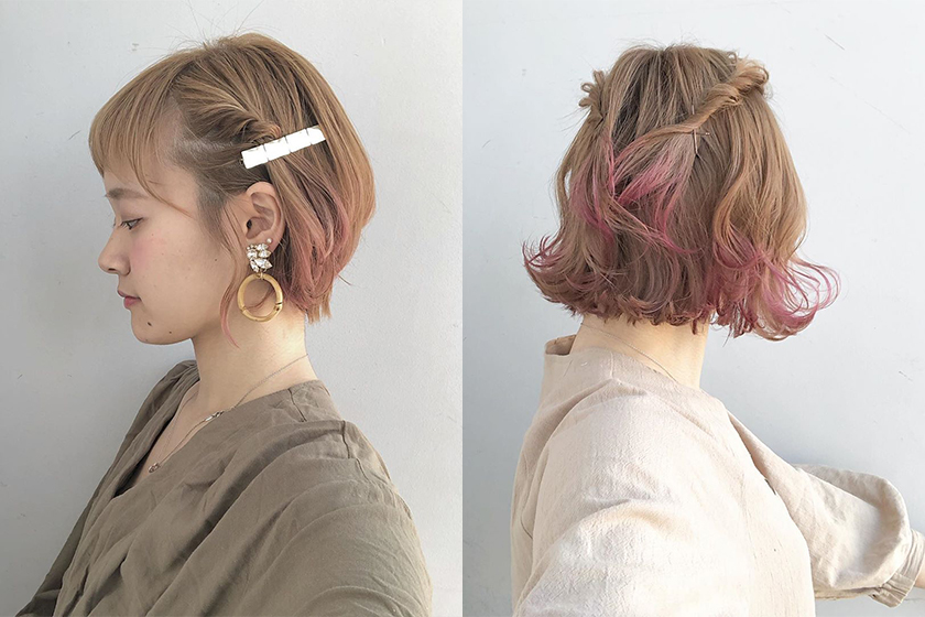 Summer Short Hair Style Idea japanese hair stylist