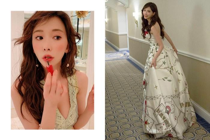 閃婚後林志玲氣色極佳現身!大家都在問的口紅色號正是 Armani 經典款!