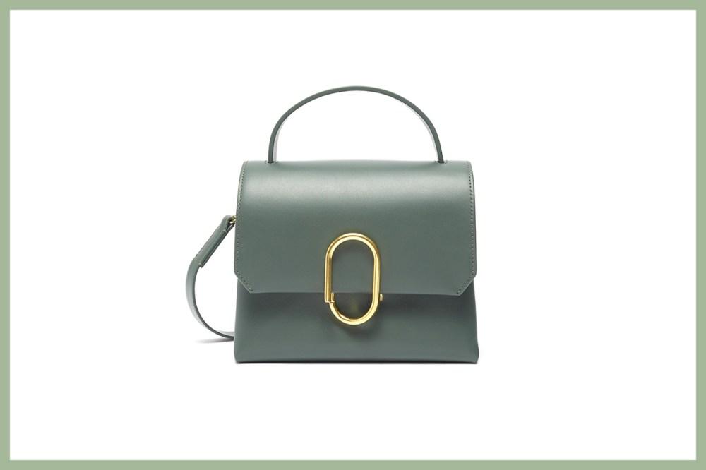 3.1 Phillip Lim Alix Paperclip Flap Mini Leather Satchel