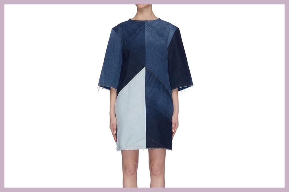Acne Studios Denim T-shirt Dress