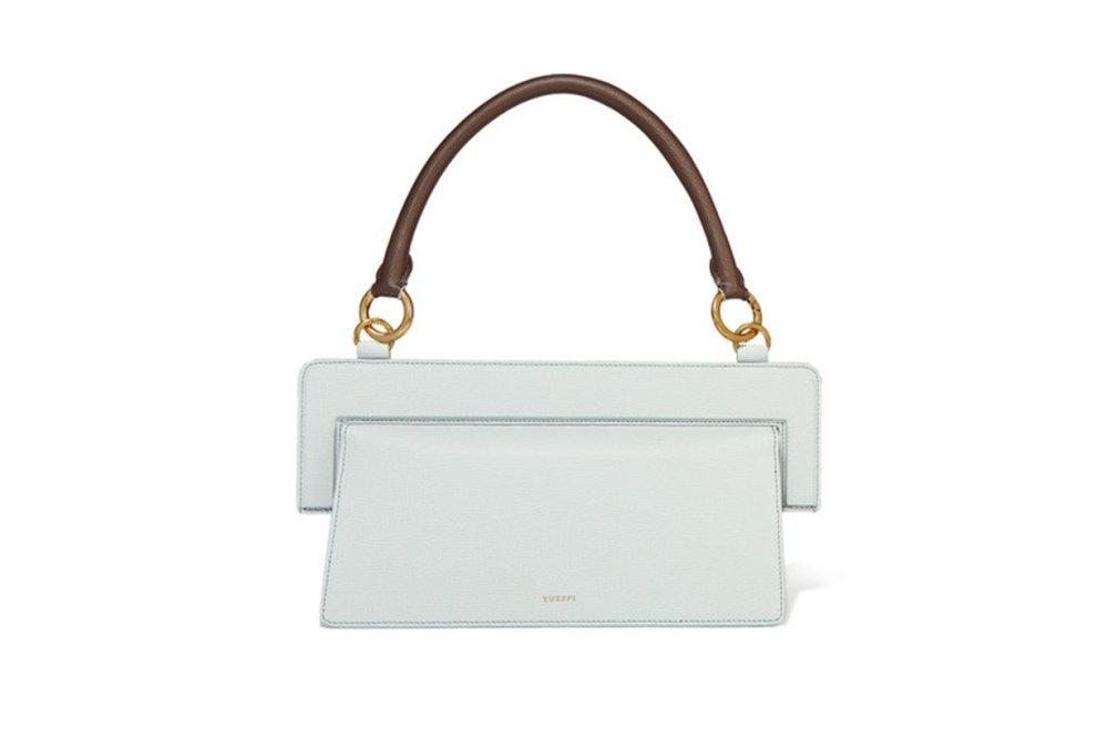 Ada Textured-Leather Tote