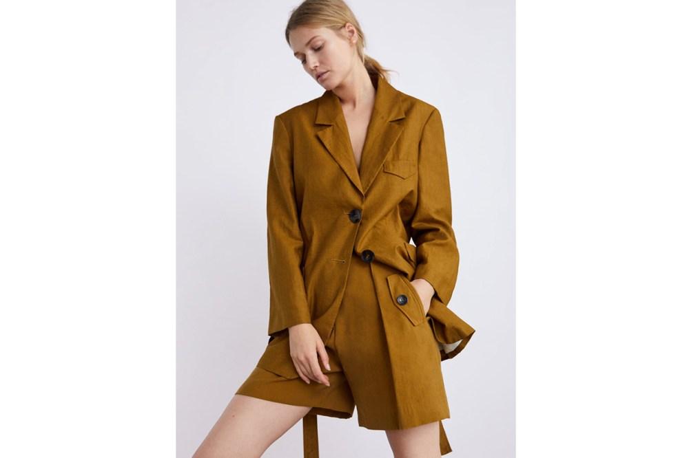 Zara Belt Blazer