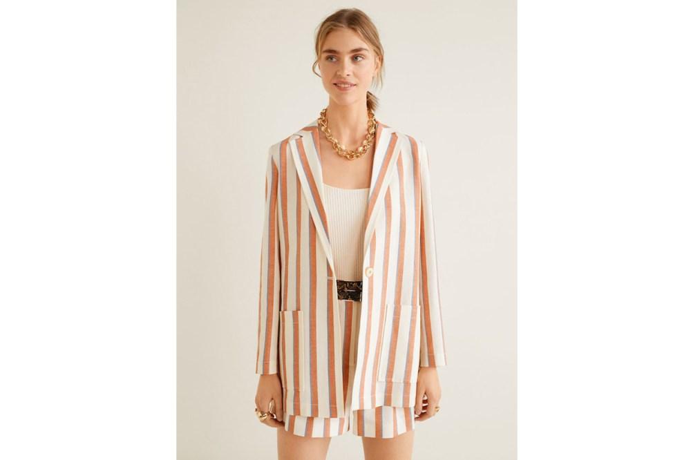 Mango Stripe Suit