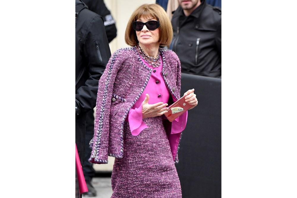 Anna Wintour Chanel Tweed Suit