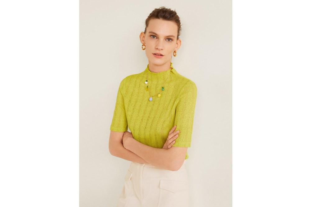 Mango Knitwear Top