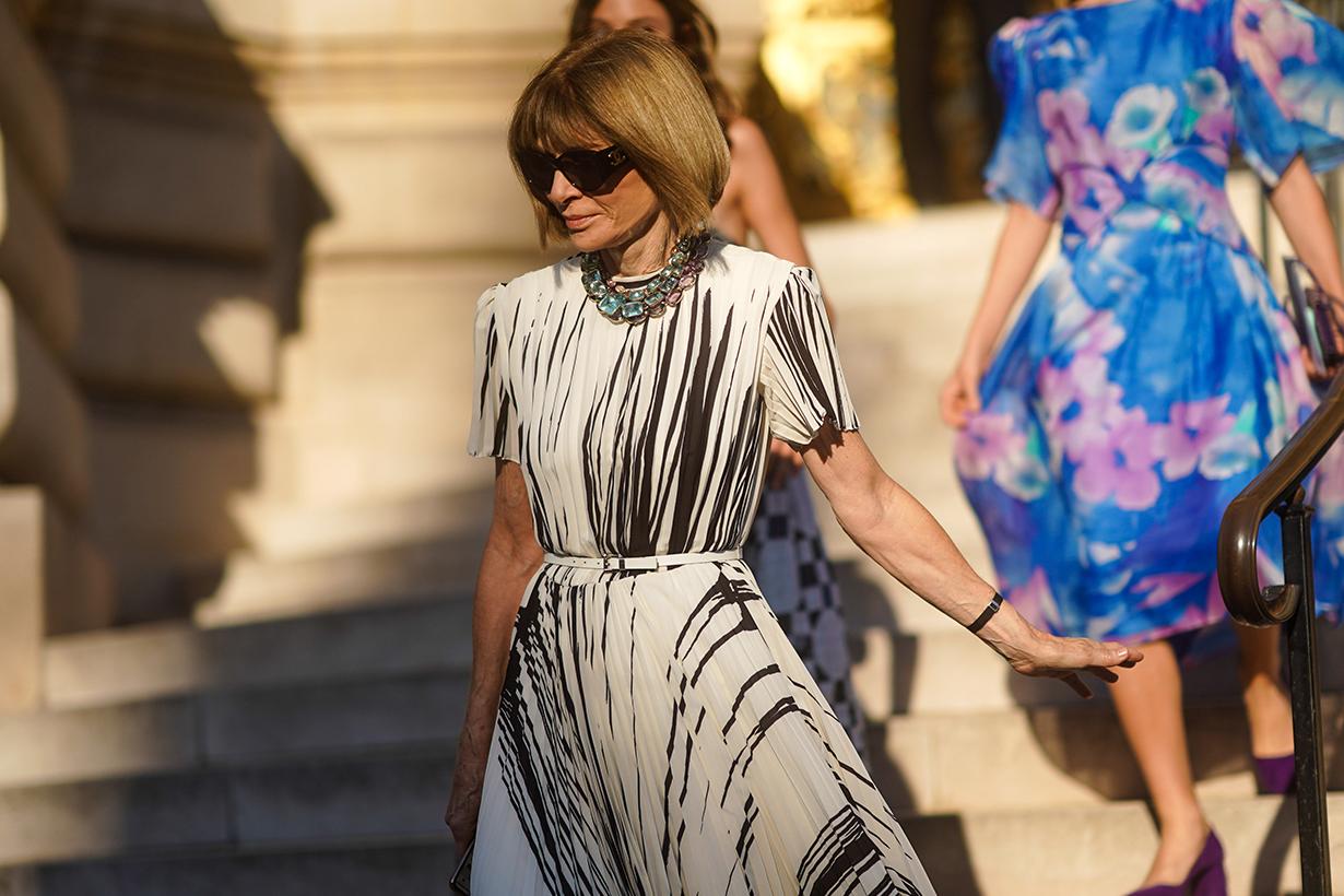 Anna Wintour Work Wardrobe Items From Zara and Mango