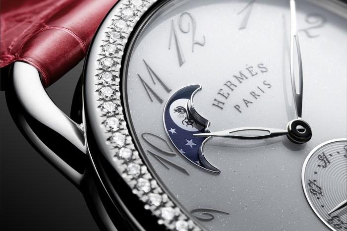 Hermès 推出了小月相腕錶,展示出佻皮的法式風格!