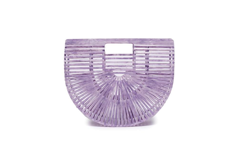 ARK Acrylic Small Caged Saddle Bag