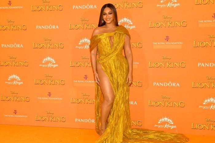 與梅根見面不能過份性感?Beyoncé 竟然這樣偷偷隱藏了裙款的高衩細節!
