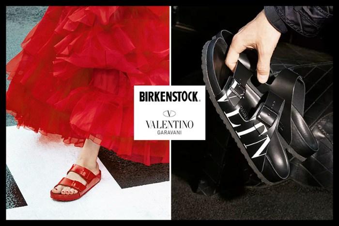 Birkenstock 與 Valentino 推出聯乘系列,曾被嫌「醜」的健康鞋升格變時尚!