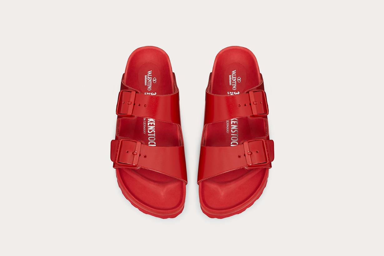 Birkenstock Valentino collaboration sandals