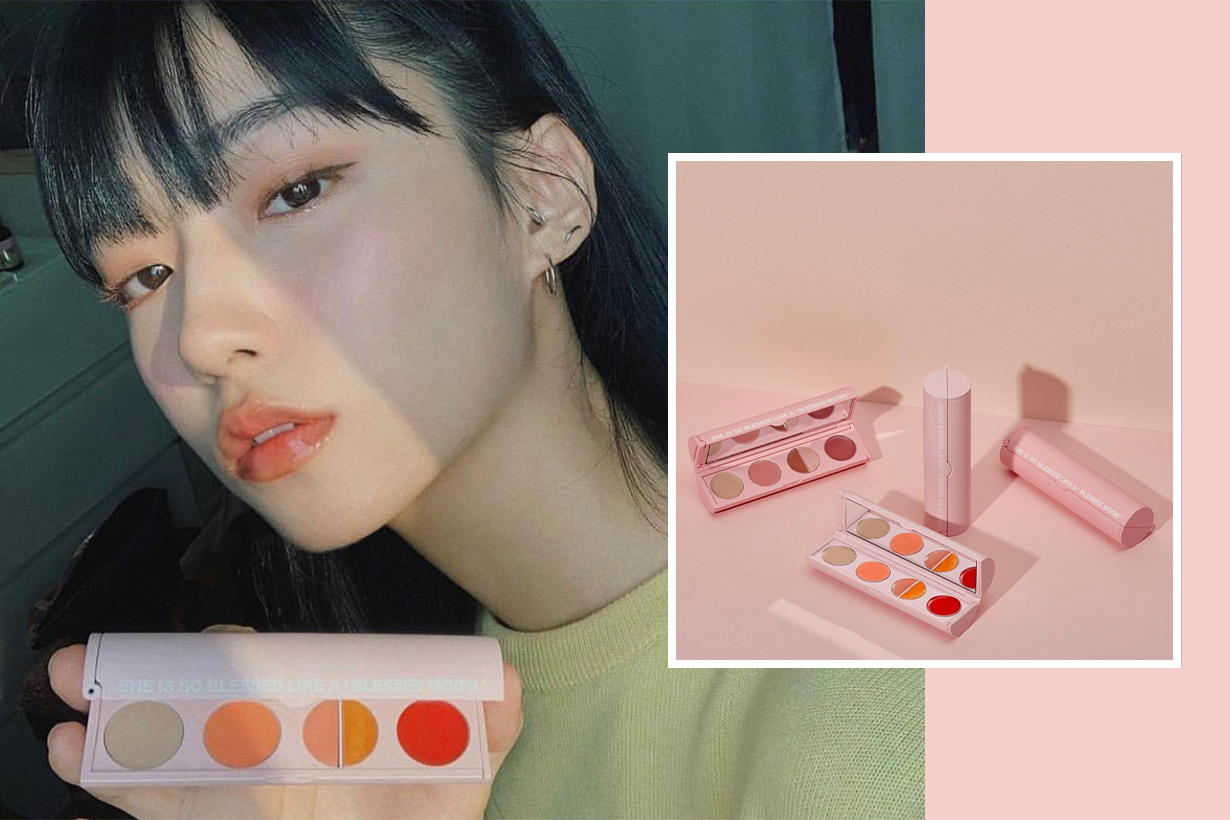 Korea Make Up Brand Blessed Moon Blemoon Kit