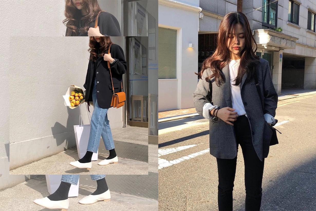 5 Korean Boyish Style Instagram Girls For Outfit Inspirations