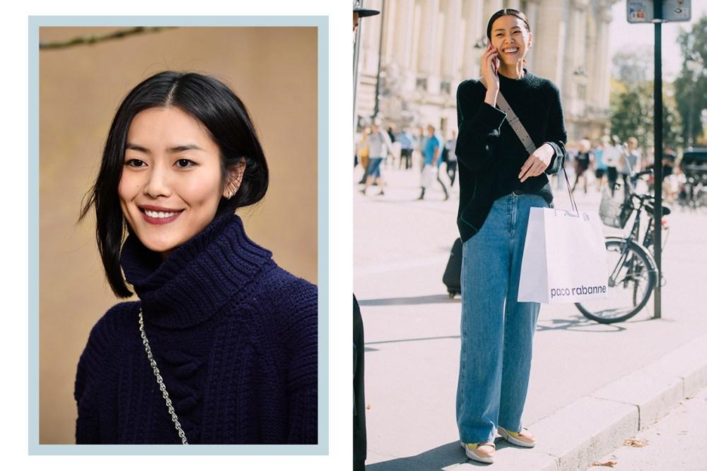 Chinese Supermodel Liu Wen Street Style