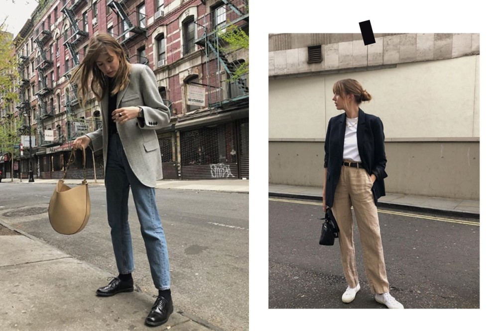 Lizzy Hadfield Blazer Street Style
