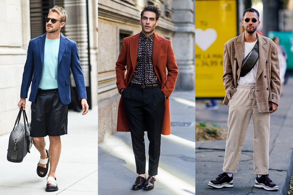 Men Fashion Week Street Style