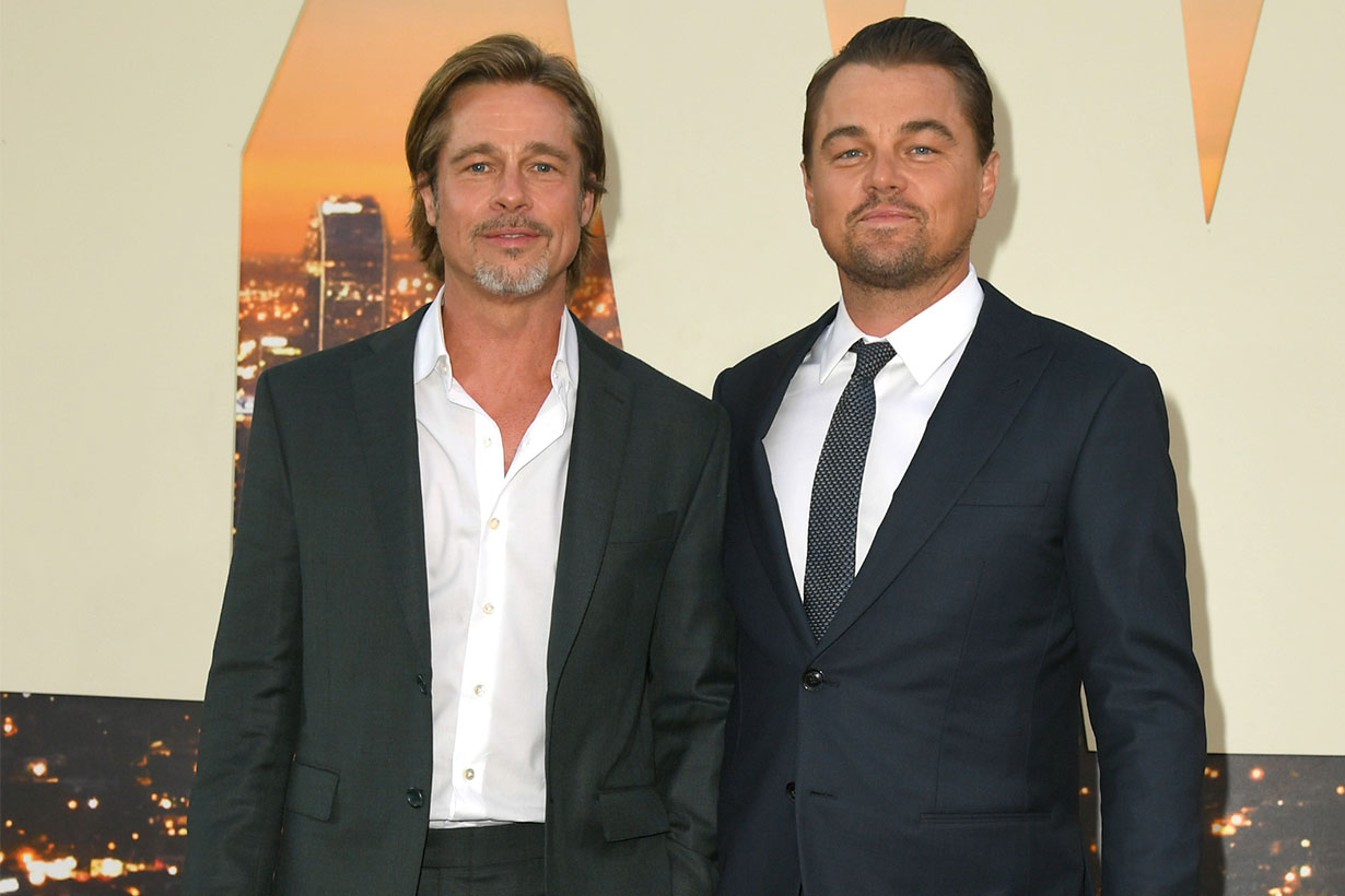 Leonardo DiCaprio Brad Pitt  Once Upon A Time In Hollywood  premiere in Los Angeles