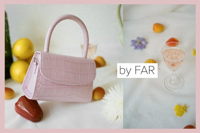 Mini Bag 繼續大流行!超人氣網紅品牌 By Far 限量配色迷你包登場!