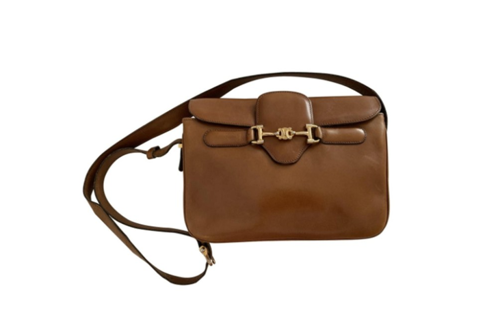 Céline Leather Crossbody Bag