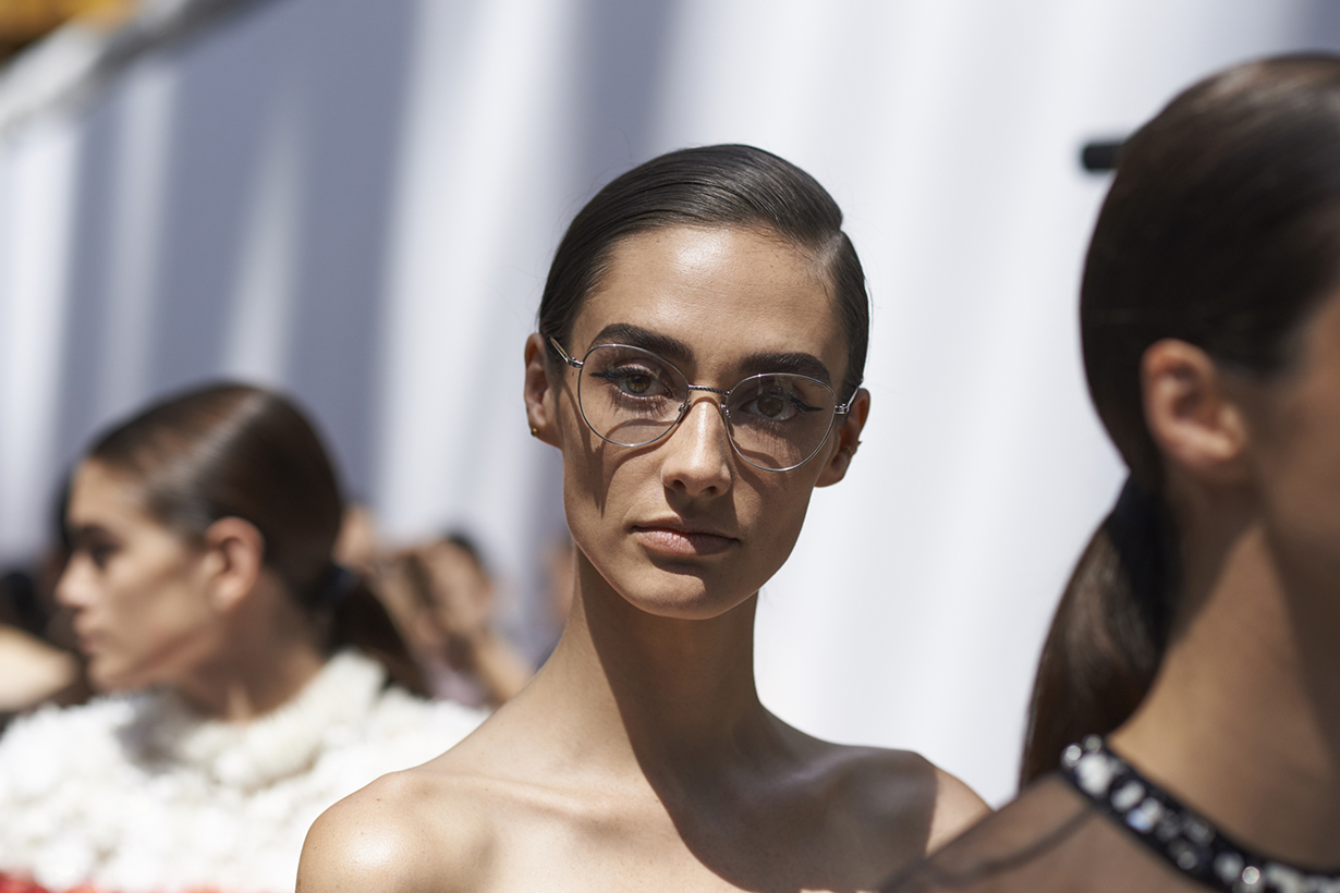 Chanel 2019 FW Haute Couture close up