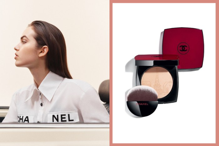 酒紅色盒子配巴黎鐵塔設計,Chanel 這盒光影粉把法式美學發揮得淋漓盡致!
