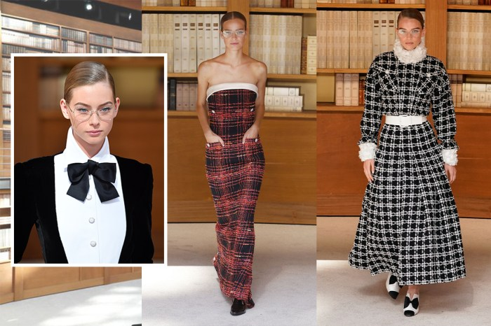 #PFW:高訂造型的點睛之筆!Chanel 將知性復古的文青眼鏡搬上時裝舞台