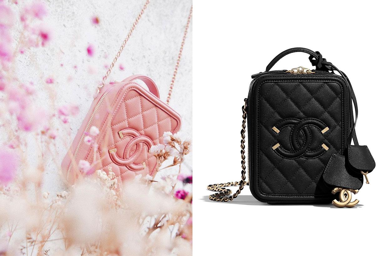 Chanel Grained Calfskin Vanity Case