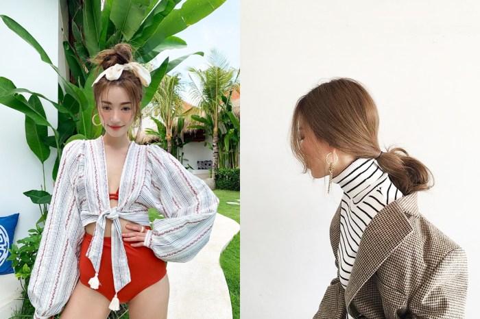 綁髮髻也可以很好玩!她用一根筷子就綁出精緻層次感髮髻!