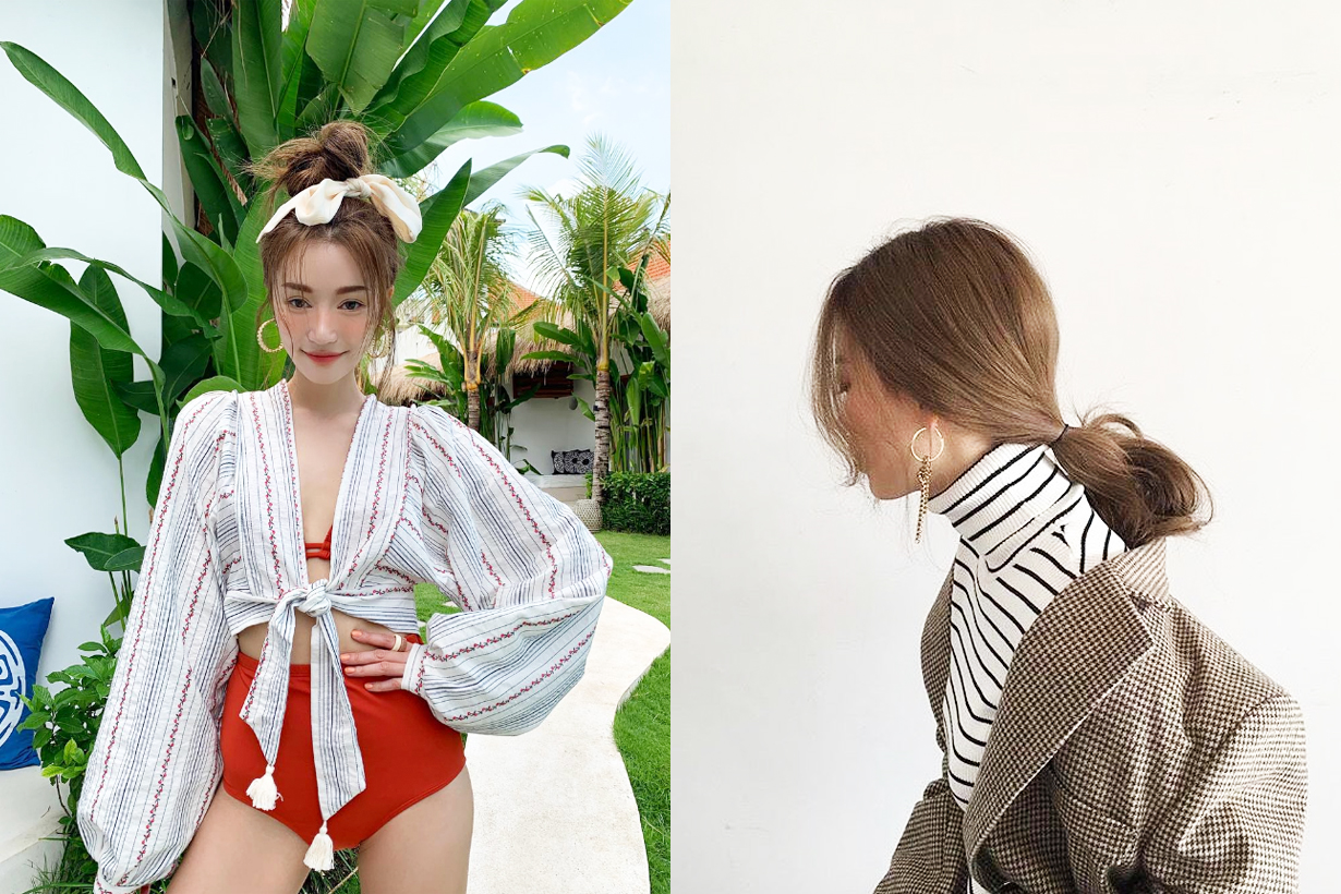 Hair bun hairstyles hair styling tips chopstick korean girls hairstyles trend Sora Park