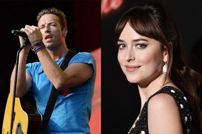 Coldplay 主唱跟《格雷》女主角 Dakota Johnson 分手後,傳極迅戀上小 19 歲的歌姬…