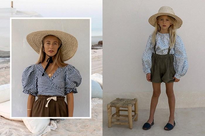 極簡母女裝:這家澳洲小眾品牌以恬適淡雅風格,除了女裝更推出小朋友設計!