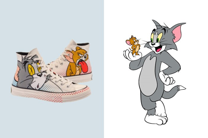 Converse 與經典卡通《Tom and Jerry》聯名系列,令網民呼喊:穿得是童年回憶!