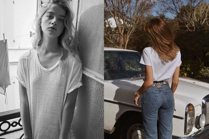 戀上法式慵懶:這家小眾品牌設計出一件最完美 T-Shirt,散發隨性不羈的優雅!