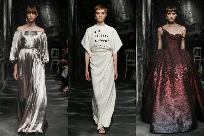 #PFW:回歸蒙田大道總部,Dior 每套高訂都宛如希臘女像般美!