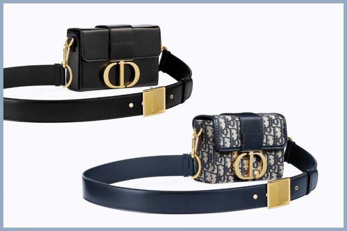 繼馬鞍包後下一個 It Bag?Dior 新款迷你手袋集合奢華質感的兩個重點設計!