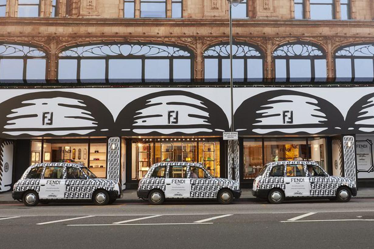 Fendi Café new open in London