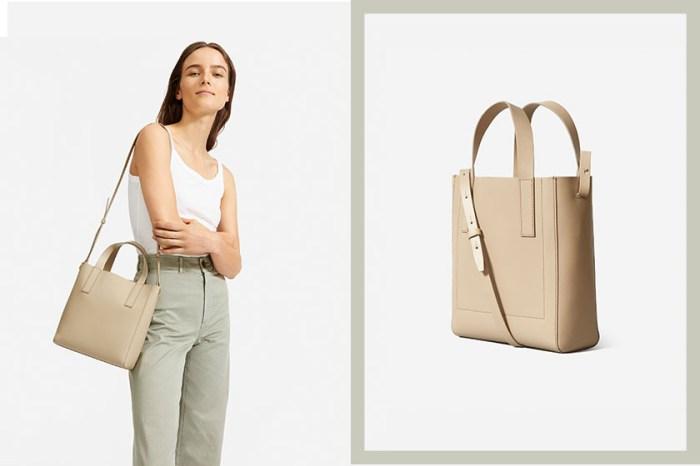 繼斷貨後:這一款梅根最愛的 Tote Bag,最新迷你尺寸已經悄悄在 Everlane 上架了!