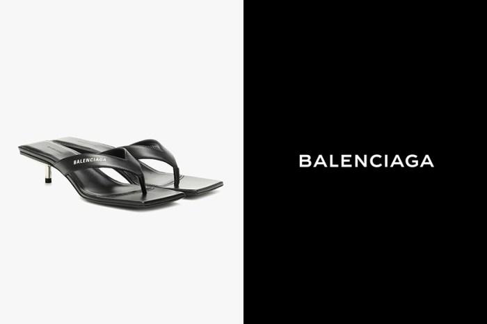 簡約摩登的完美展現:Balenciaga 這雙「高跟人字拖鞋」,將會是下一雙 It Shoes?