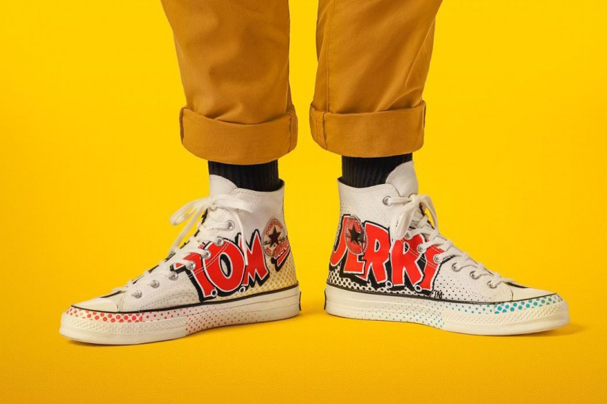 Coverse x Tom and Jerry Chuck Taylor 70S  Chuck Taylor All Star new collection