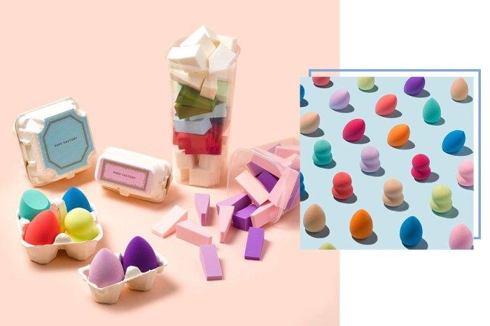 放題式七彩化妝海綿任你挑!釜山 Puff Factory「美妝蛋牆」打卡熱點猶如糖果店般可愛迷人