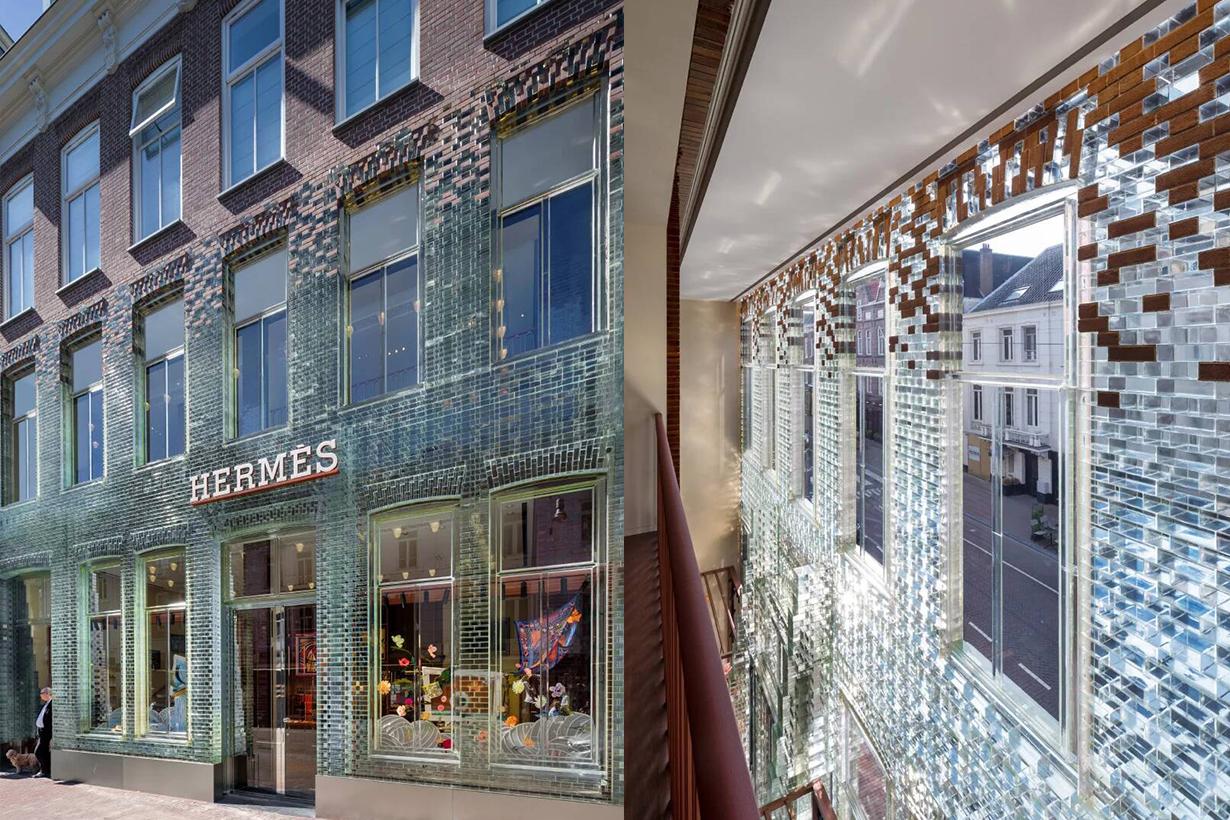 Hermèsstore in Amsterdam