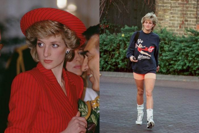 50,000 萬美金拍賣售出:為什麼黛安娜王妃最常穿這件運動衫,背後原因令人感傷…
